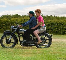 1951 Norton 500 by David J Knight