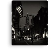 NYC moments #4 Canvas Print