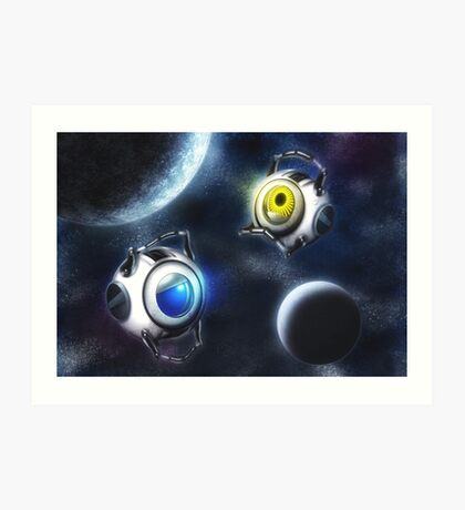 Cores In Space Art Print