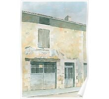 Abandoned House, St. Front la Riviere, France Poster
