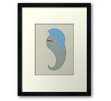 Analog Patterns : Vector Art Character Framed Print