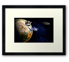 Star Portal 666 Framed Print