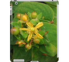 Wild yellow flower iPad Case/Skin