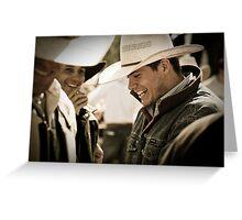 Helmville Rodeo Montana 2009 -  #148 Greeting Card