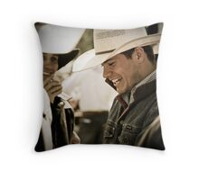 Helmville Rodeo Montana 2009 -  #148 Throw Pillow