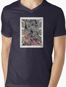 Wild Slope Mens V-Neck T-Shirt