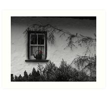 Window Pot - Bunratty Castle Grounds, Limerick, Ireland Art Print