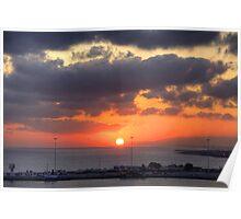 Cretian Sunrise Poster
