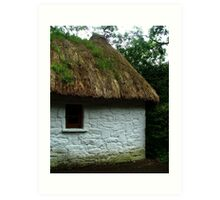 Thatched Cottage - Bunratty Castle Grounds, Limerick, Ireland Art Print