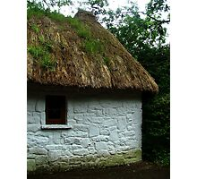 Thatched Cottage - Bunratty Castle Grounds, Limerick, Ireland Photographic Print