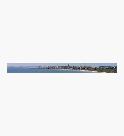 bridlington bay panorama Photographic Print