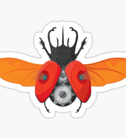 Clockwork Orange Sticker