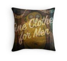 Fine Clothes For Men Throw Pillow