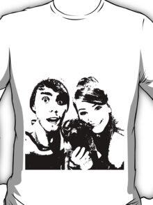 Black and white Zalfie T-Shirt