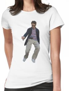 Robert Downey Jr. struttin' his way into our hearts Womens Fitted T-Shirt