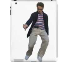 Robert Downey Jr. struttin' his way into our hearts iPad Case/Skin