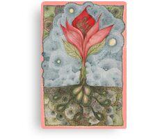 Floribunda Indiennae Canvas Print