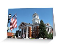 County Court House Greeting Card