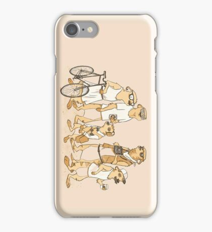 Hipster Meerkats iPhone Case/Skin