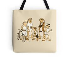 Hipster Meerkats Tote Bag