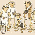 Hipster Meerkats by Rebekie Bennington