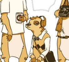 Hipster Meerkats Sticker