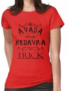 Avada Kedavra Trick Womens Fitted T-Shirt