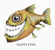 Happy Fish by Chris Harrendence