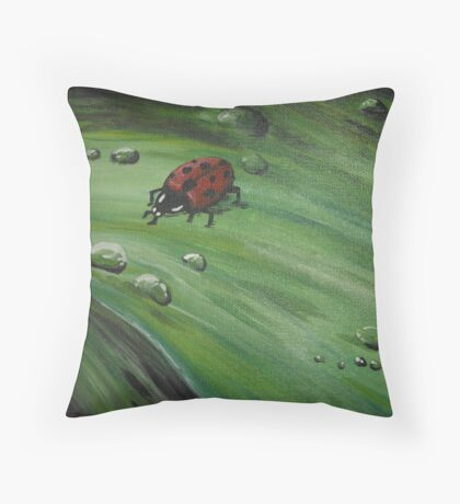 ladybug Throw Pillow