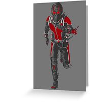 Ant-Man Vector Greeting Card