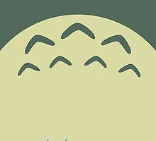Totoro and Friends - Minimalist by sterlingarts
