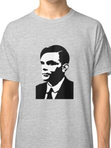 Black and White Turing Classic T-Shirt