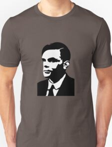 Black and White Turing T-Shirt