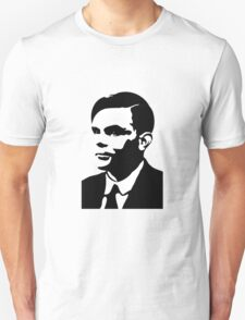Black and White Turing T-Shirt
