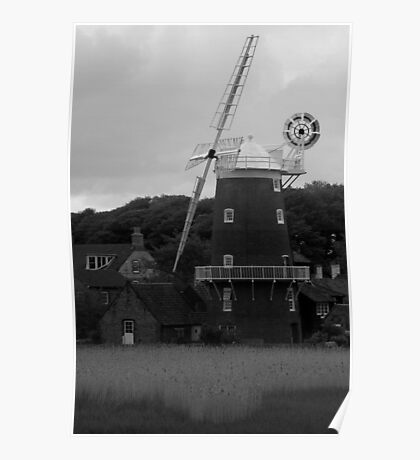 Cley Mill (2) Poster