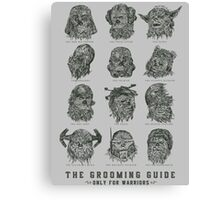 The Grooming Guide Canvas Print