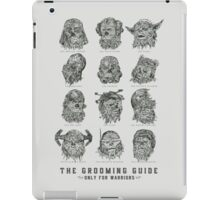 The Grooming Guide iPad Case/Skin