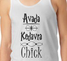Avada Kedavra Chick Tank Top