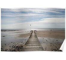 Seascale Jetty & Beach Poster