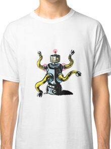 Really Rad Retro Robot Classic T-Shirt