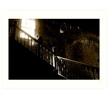 West Park - Staircase Art Print