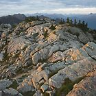 last light on Mount Seymour, North Shore by Christopher Barton