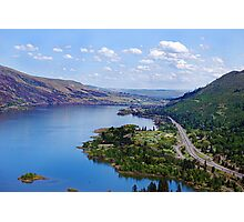 Up The Columbia River Photographic Print
