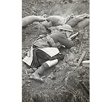 Poor Bloody Infantry Photographic Print