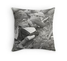 Poor Bloody Infantry Throw Pillow