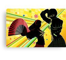 Persona 4 - Chie and Yukiko Canvas Print