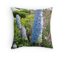 Delphinium  Charm Throw Pillow