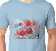 Heart Lollypops Unisex T-Shirt