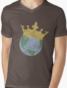 King Of The World Mens V-Neck T-Shirt