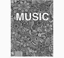 Music Doodle Drawing Unisex T-Shirt